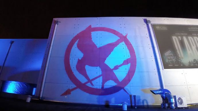 Mural Hunger Games