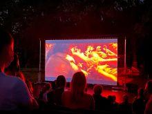Outdoor cinema Kunstencentrum Nona