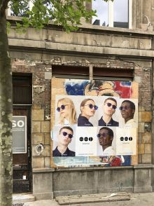 outdoor affichage